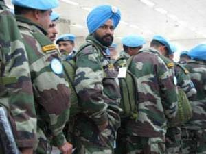 Индийские военнослужащие. Фото пользователя MACSURAK с сайта nowpublic.com