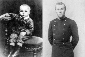 Николай Рерих в детстве и молодости