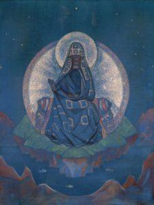 Картина Николая Рериха «Матерь Мира», 1924 г.