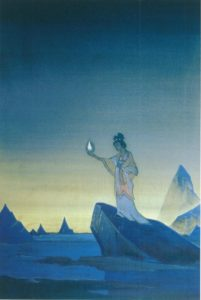 Картина Николая Рериха «Агни-Йога», 1928 г.