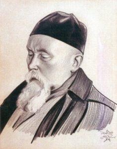 Картина Святослава Рериха. «Николай Рерих». 1934