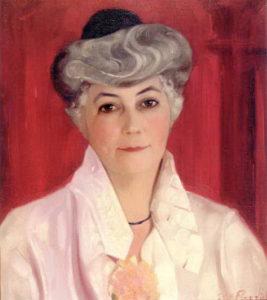 Картина Святослава Рериха. «Портрет Елены Ивановны Рерих». 1931