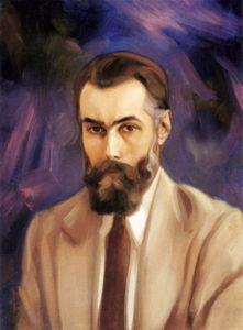 Святослав Рерих. Автопортрет.1940-е