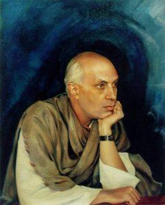 Картина Святослава Рериха. Пандит Джавахарлал Неру. 1942