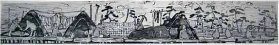 Картина Н.К.Рериха, Каменный век 1907