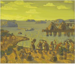 Картина Н.К.Рериха, Каменный век 1910