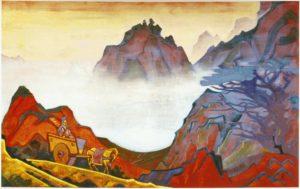Картина Н.К.Рериха. Конфуций Справедливый. 1925