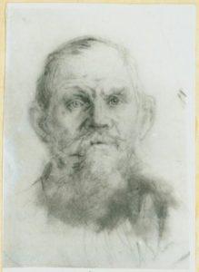 Картина Н.К.Рериха. Старик