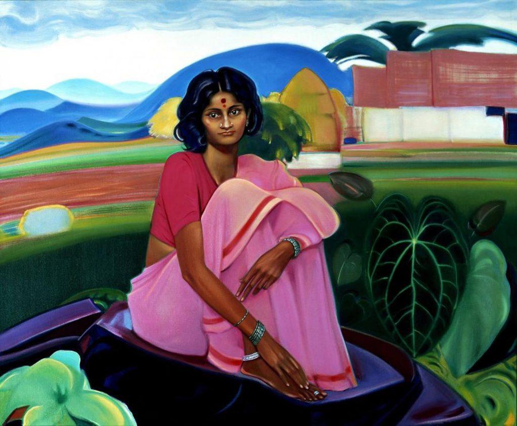 Картина С.Н.Рериха. Моя страна прекрасна 1974